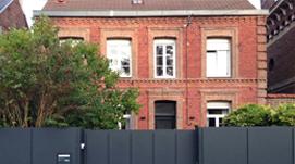 Rénovation et extension d'une maison de ville à Valenciennes