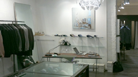 Aménagement d'une boutique de pret-à-porter à Toulouse